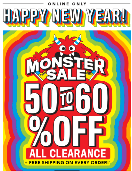 Children's place monster sale