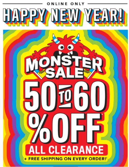 Children's place monster sale