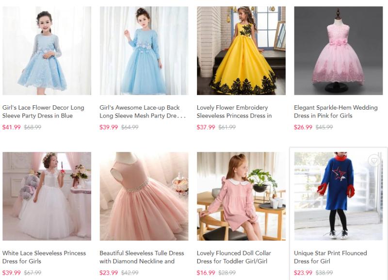 Patpat vintage dresses