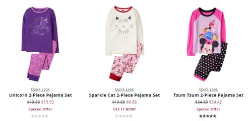 Crazy 8 pajamas 2