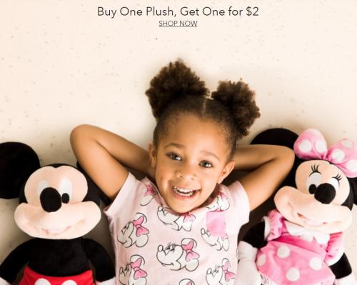 Disney plush bogo $2