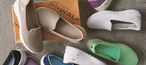 Skechers Radiant GO Walk Joy Slip-On Shoes