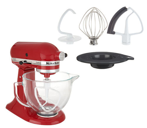 Kitchenaid mixer red