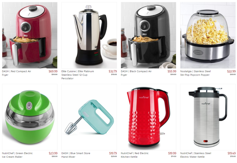 Zulily colorful kitchen