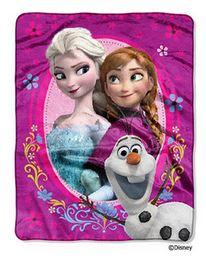 Frozen sisters throw