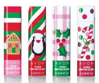 Avon holiday lip balm