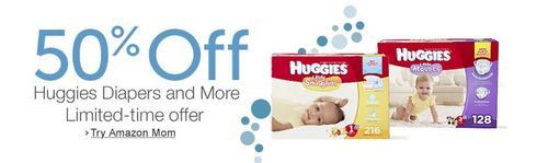 Huggies amazon mom
