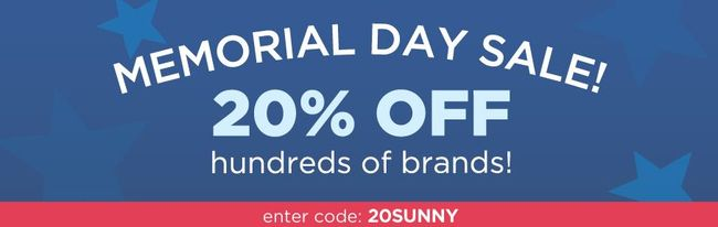 Diapers.com Memorial Day Sale - 20% off Coupon