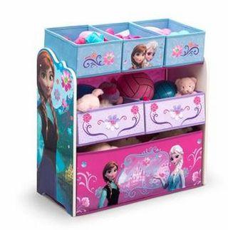 Frozen multi bin toy stoarge