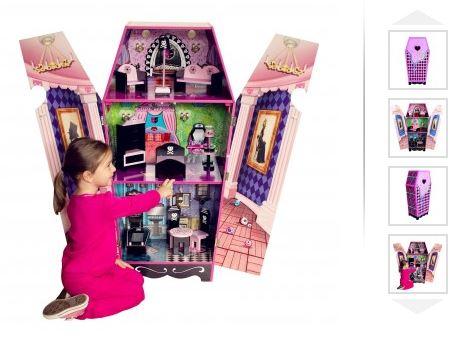 Teamson Kids Vampire Villa Coffin Doll House 79 Free Shipping Best