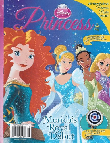 Disney Princess Magazine $13.99/year