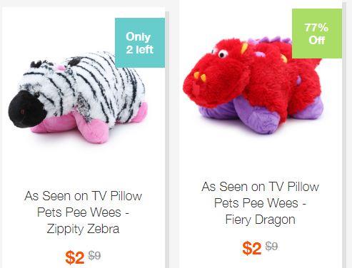 Hollar pillow pets