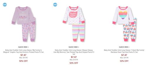 Children's place pajamas