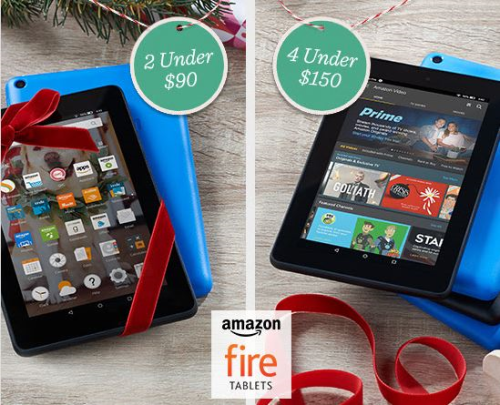 Amazon 7 Fire Tablets with Case and Software