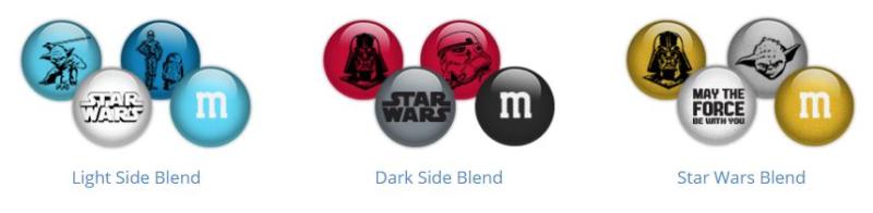 Star wars m&ms