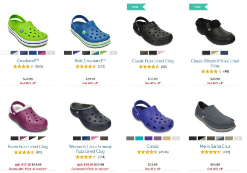 Crocs cyber monday deals doorbusters