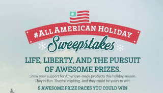 All american holiday sweeps