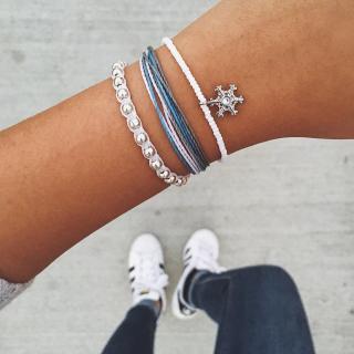 Pura vida snowflake bracelet