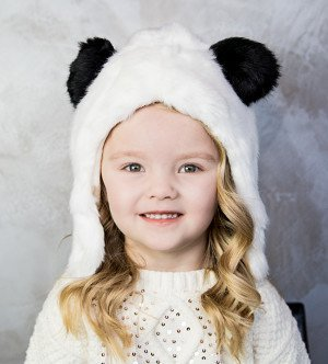 Eskimo kids panda bear