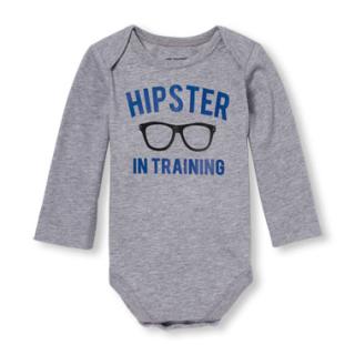 Children's place onesie hipster