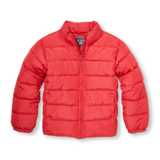 Children's place boys puffer jacket
