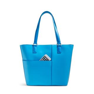 Vera bradley composition tote blue