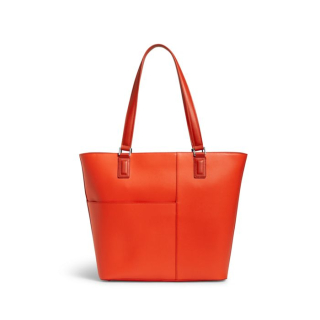 Vera bradley composition tote orange