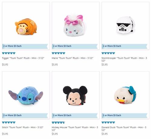 Disney store tsum tsum