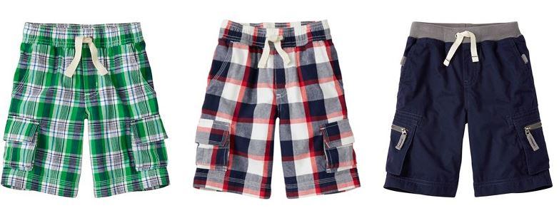 Hanna andersson boys shorts
