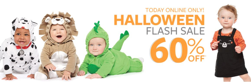 Carter's halloween costume flash sale