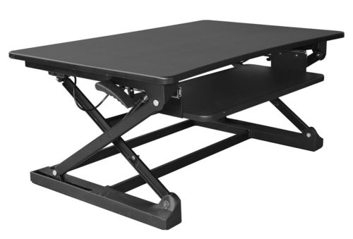 Xec-FIT Adjustable Height Convertible Sit to Stand Up Desk