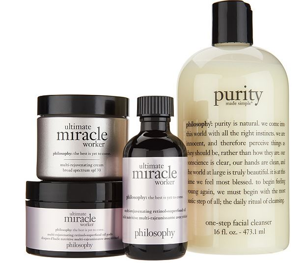 Philosophy purity and ultimate miracle worker retinol kit