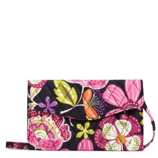 Vera Bradley Factory Exclusive Strap Wallet