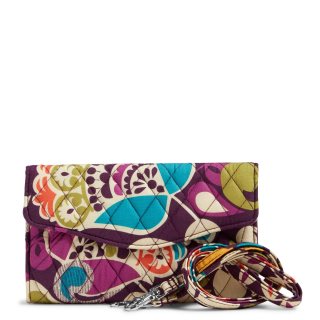 Vera Bradley Factory Exclusive Strap Wallet 2