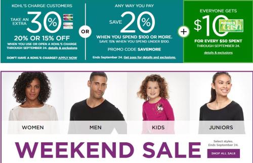 Kohl's sale & coupon deals
