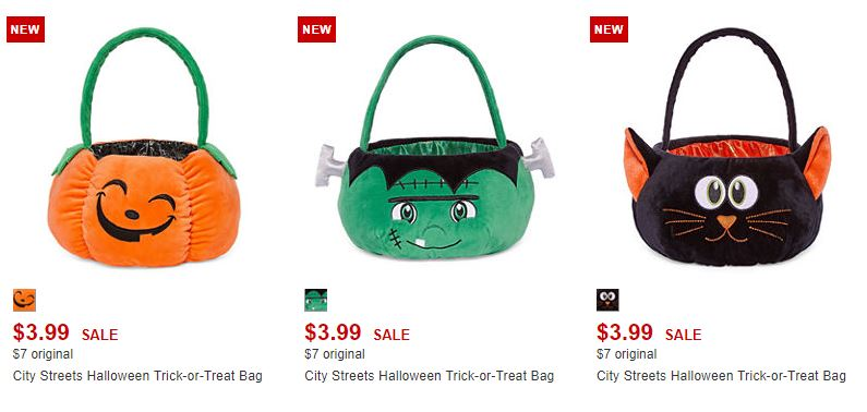 Jc penney halloween treat bags