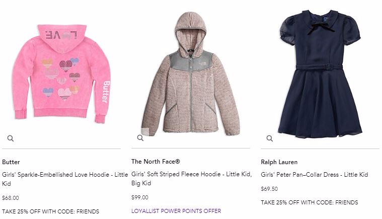 Bloomingdales friends and family sale