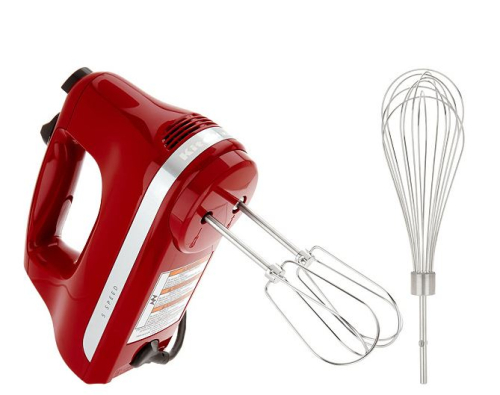 KitchenAid 5 Speed Ultra Power Hand Mixer with Wire Pro Whisk