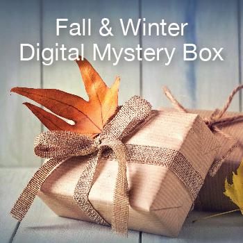 Digital mystery box cricut september