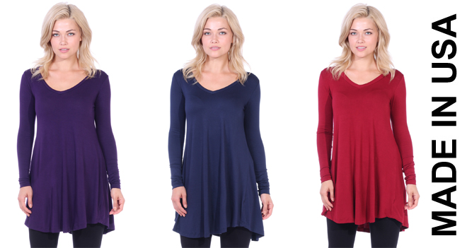 TagUnder  Long Sleeve Fall Tunics