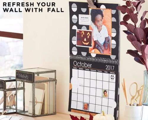 Shutterfly free calendar