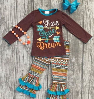 Thanksgiving girls boutique outfit