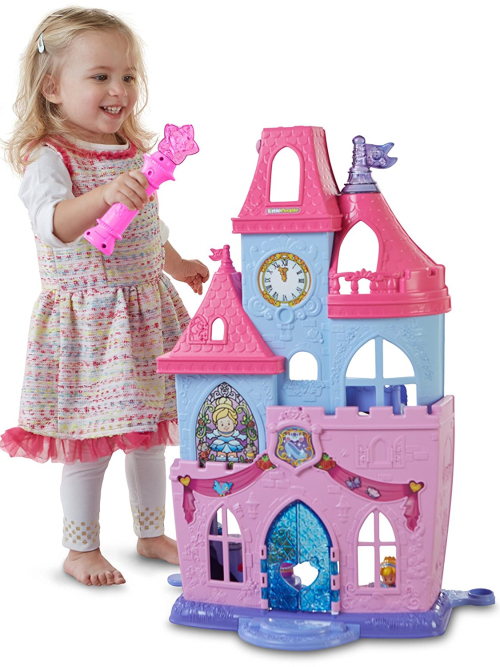 Fisher price disney princesses magical wand castle