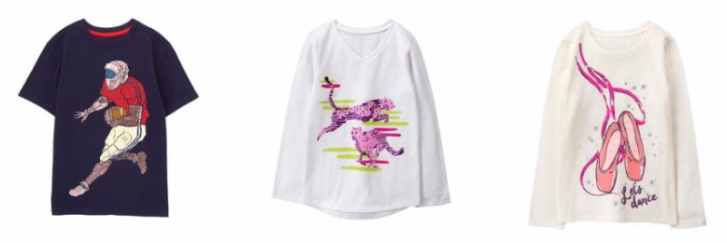 Gymboree tees black friday deals