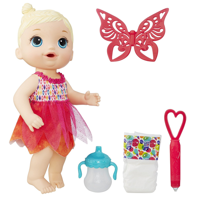 Baby Alive Face Paint Fairy $10.25 (Was $19.99)