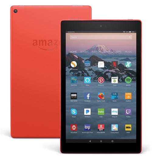 All-New 2017 Amazon Fire 10 HD Tablet  32GB w Custom Case  App Vouchers