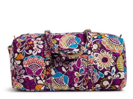 Vera bradley xl duffel bag