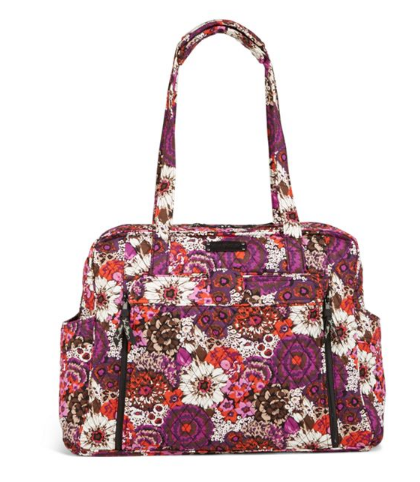 Vera bradley large stroll around baby bag