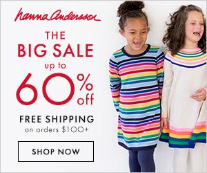 Hanna andersson big sale 2