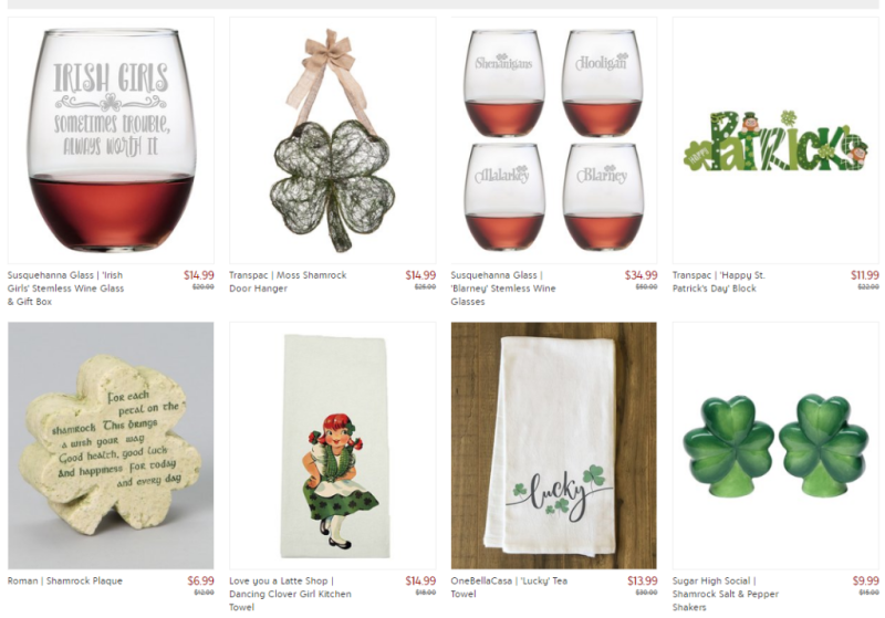 St patrick's day at zulily